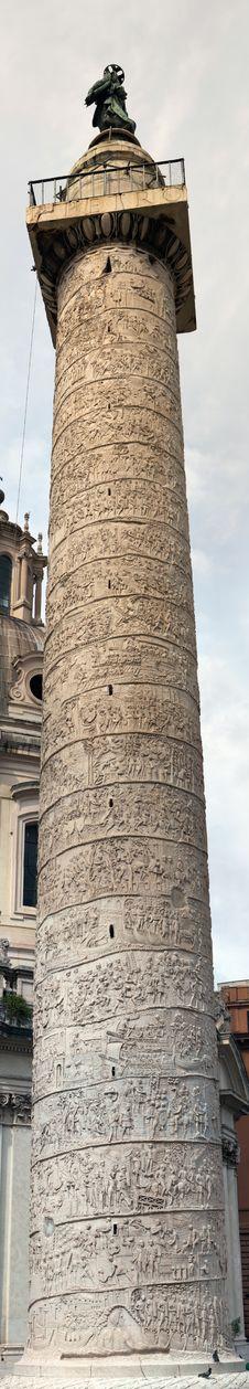 Free Trajan S Column In Rome, Italy Royalty Free Stock Photography - 26212417