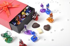 Free Box Of Chocolates Stock Photography - 26213552