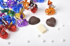 Free Colorful Chocolates Royalty Free Stock Photography - 26213567