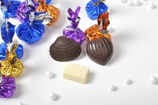 Free Colorful Chocolates Royalty Free Stock Photo - 26213585