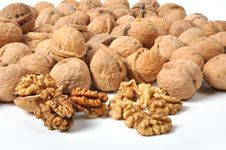 Free Walnuts Royalty Free Stock Photography - 26213687