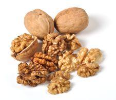 Free Walnuts Stock Photography - 26213722