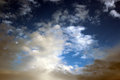 Free Clouds In A Winter Sky Stock Photos - 26228793