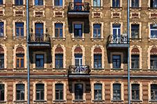 Free Facade Of An Old Building Stock Images - 26222464