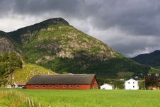 Free Norway Village Stock Photography - 26222832