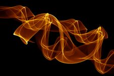 Smoke Abstract Background Stock Photo