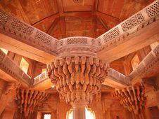 Free The Central Pillar Of Diwan-i-khas Stock Photos - 26225593