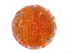 Red Caviar Close-up Royalty Free Stock Photo