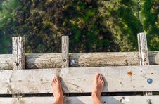 Free Standing On A Bridge Stock Photos - 26227803