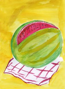 Free Watermelon Stock Photography - 26228612