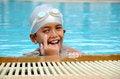 Free Happy Swimmer Stock Image - 26236361