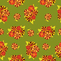 Free Seamless Texture  With Bright Flowers Stock Photos - 26238563