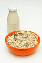 Free Cereal And Milk Stock Photography - 26239202