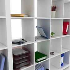 Free Shelf For Office Stock Image - 26231041