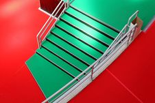 Free Green Stairway Stock Images - 26235814