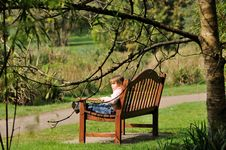 Free Relax In Park Royalty Free Stock Photography - 26236907
