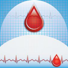 Free Blood Donation Vector. Stock Photos - 26238103