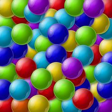 Free Colorful Balls Royalty Free Stock Photo - 26238765