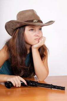 Cowgirl Royalty Free Stock Image