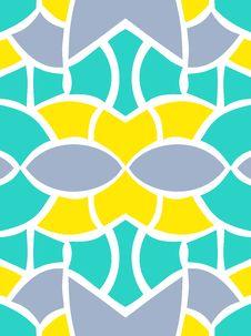 Free Shape Seamless Pattern Stock Photography - 26243362