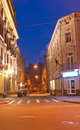 Free Night Streets At The Lviv Stock Images - 26257304