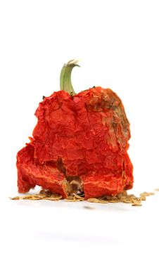Free Red Hot Dried Pepper Stock Photo - 26250660