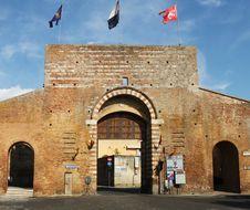 Free Porta San Marco In Siena Stock Photo - 26250690