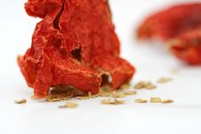 Free Red Hot Dried Pepper Stock Images - 26250694