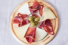 Free Cheese Platter. Stock Photography - 26253202