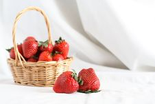 Free Strawberry On White Stock Image - 26253561