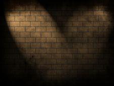Abstract Brick Wall Stock Image