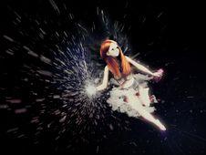 Free Flying Fairy Stock Image - 26254561