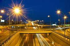Evening Traffic Royalty Free Stock Image