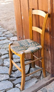 Free Wooden Chair Royalty Free Stock Image - 26259376