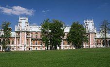 Free Large Tsaritsyno Palace Stock Photography - 26259882