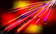 Free Abstract Techno  Background  With Light Effect. Royalty Free Stock Image - 26260596