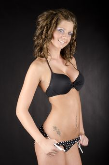 Free Beautiful Swim Suit Stock Photo - 26262250