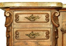 Free Wooden Cabinet Drawer Stock Photos - 26264503