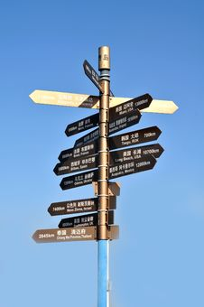 Free Signpost Stock Photography - 26265782