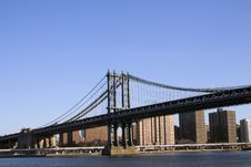 Free Manhattan Bridge Stock Image - 26265911