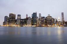 Free Manhattan Royalty Free Stock Photography - 26265987