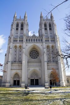 Free National Cathedral Stock Photo - 26266500