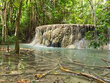 Free Erawan Waterfall Stock Photos - 26267103