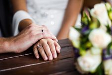 Free Hands Enamoured Stock Images - 26269504