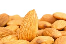 Free Almond Heap Royalty Free Stock Photo - 26272975