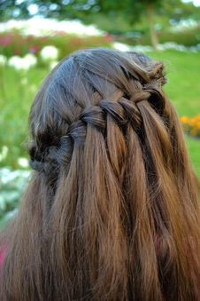 Free Braided Hair Style Stock Images - 26273184