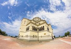 St Volodymyr S Cathedral  In Sevastopol Stock Photo