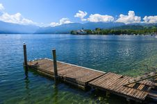 Free Wooden Jetty For Mooring Yachts And Boats Stock Photo - 26275210