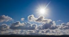 Free Sun And Clouds Stock Image - 26281831