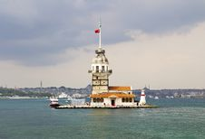 The Maiden S Tower Stock Photography